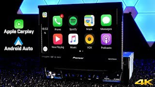 Download Pioneer AVH-3300NEX - First Ever Single DIN Radio with Apple Carplay and Android Auto!!! Video