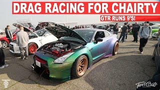 Download ″X″ 9 SECOND GTR Drag Racing for Charity - Toy and Jacket Drive Video