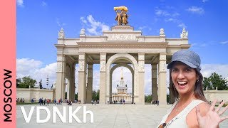 Download VDNKh: a fantastic Moscow park only locals know | Russia 2018 vlog Video