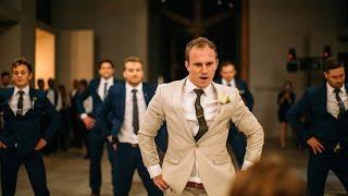 Download Groom Surprises Bride with Best Groomsmen Dance Ever Video