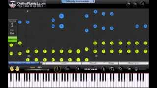 Download Will.I.Am ft. Britney Spears - Scream & Shout - Piano Tutorial Video