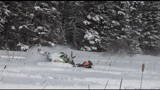 Download Snowmobile Fails......What you never see in sled videos today.....PowerModz. Video