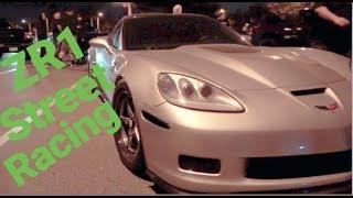 Download Corvette ZR1 vs Eclipse $2,600 Street Race DSM Video