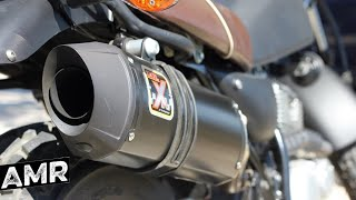 Download Suzuki VanVan Ride | IXIL exhaust no dB Killer | Pure sound Video