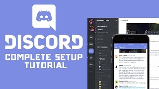 Download Complete Discord Voice Chat & Server Setup Tutorial Video