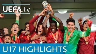 Download UEFA Under-17 final highlights: Portugal v Spain Video