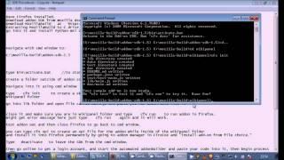 Download Beginner Firefox Extension Creation Add-on SDK Installation Tutorial for Windows 7 Video