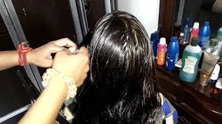 Download Hair oiling , Hair chumpi with Mustard oil ( nd also make Fish tale Braid ) Video