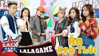 Download LA LA GAME | THỬ THÁCH ĂN KẸO THÚI | GAMESHOW IDOL Video
