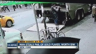 Download Man steals pot of gold, disappears from NYC Video