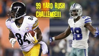 Download WHO CAN GET A 99YD RUSH FIRST?!? ANTONIO BROWN VS DEZ BRYANT!! Video