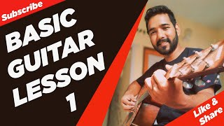 Download Basic Guitar Lesson 1 for Beginners in (Hindi) by Video