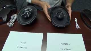 Download Comparacion entre parlantes Sony XS-FB6930 vs Pioneer TS-A6965R Video