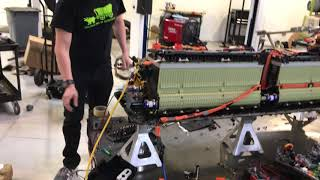 Download First test run for the Teslonda drive unit Video