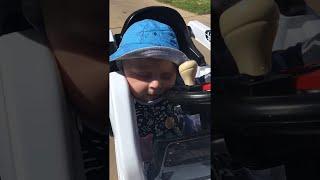 Download Falling Asleep at the Wheel Has Never Looked so Cute || ViralHog Video