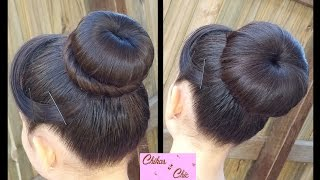 Download Classic Donut Bun (2 Options!) | Quick and Easy Hairstyles | juda hairstyle | Dance hairstyles Video