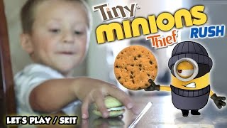 Download My MINION is a TINY THIEF! (FGTEEV GAMEPLAY / SKIT w/ Despicable Me Minions Rush) Video