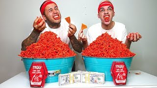 Download HOT CHEETOS CHALLENGE!!! ($10,000 CASH BET) Video