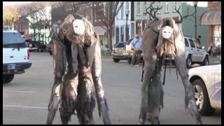 Download 4 Legged Stilt Costumes - Handmade Video