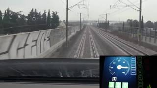 Download High speed train TGV cockpit view (France) Video