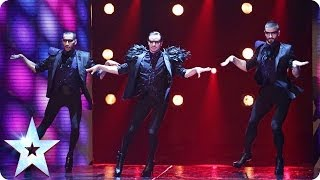 Download Well heeled dancers Yanis Marshall, Arnaud and Mehdi | Britain's Got Talent 2014 Video