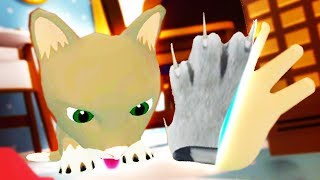 Download USING BENDY'S RITUAL TO BECOME THE CAT!!?! (Baby Hands VR HTC Vive) Video