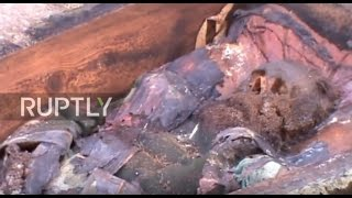 Download Turkey: Skeleton of 19th century Russian general unearthed in Ardahan Video
