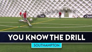 Download The Ultimate Finishing Drill! | You Know The Drill | Southampton Video