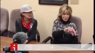 Download 25 November 2016. Jane Fonda at Standing Rock. Video