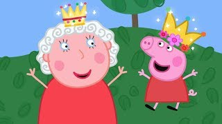 Download Peppa Pig English Episodes   Peppa meets the Queen!   Royal Wedding Special👸  Cartoons for Children Video