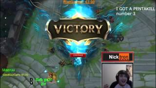 Download Top 5 Pentakill reactions Video