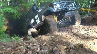 Download Land Rover Defender 90 ''300TDI & 3.9 V8'' extreme offroad trial race Video