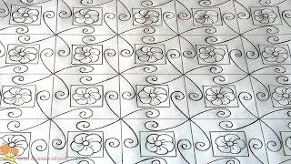 Download nakshi kantha drawing design-52, how to nokshi katha drawing, নকশী কাথার ডিজাইন, नोक्षी कथा डिजाइन Video