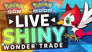 Download Pokemon Sun and Moon LIVE SHINY Wonder Trade Reaction! Video