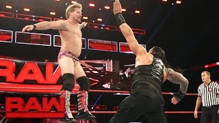Download Roman Reigns vs. Kevin Owens & Chris Jericho - United States Title Handicap Match: Raw, Jan. 9, 2017 Video