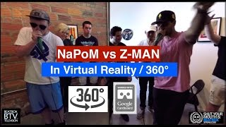 Download NaPoM vs Z-Man / VR 360° Beatbox Battle Video