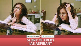 Download FilterCopy | Story Of Every IAS Aspirant | Ft. Barkha Singh Video