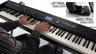 Download RD-700NX Digital Piano, Synthesizer capability demo by John Maul Video
