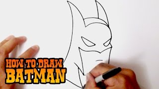Download How to Draw Batman - Step by Step Video Lesson Video