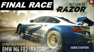 Download Need For Speed No Limits - FINAL RACE - Return of Razor BMW M4 F82 [HD] Video