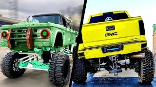 Download CRAZIEST and POWERFUL TRUCKS (Car Sound) | ROLLING COAL Video