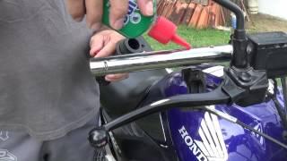 Download (Manutenção Rápida) Lubrificação e regulagem do acelerador - CG Titan 150 Video