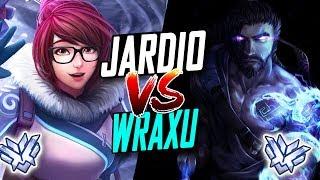 Download JARDIO BEST MEI VS WRAXU RANK #1 HANZO! WHO'S BEST? [ OVERWATCH SEASON 6 TOP 500 ] Video