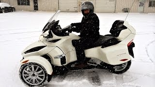 Download Can-Am Spyder in the Snow? - Watch This! Video