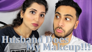 Download Challenge | Husband Does My Makeup | Fictionally Flawless Video