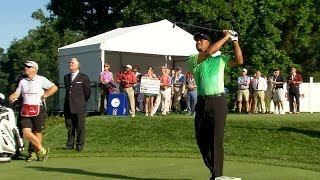 Download Tiger Woods highlights from Round 1 of Quicken Loans Video