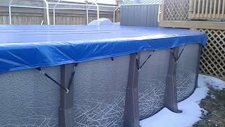 Download Eliminator Pool Cover review after first winter Video