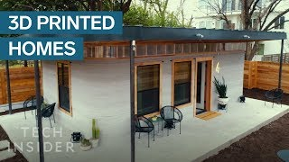 Download 3D-Printed Home Can Be Constructed For Under $4,000 Video