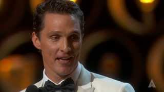 Download Matthew McConaughey winning Best Actor Video
