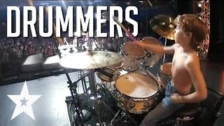 Download 7 Skilled Drummers From Around The World On Got Talent Video
